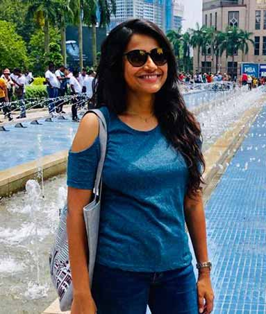 Soumi lost 7kgs before her vacation trip